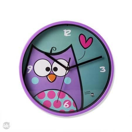 Relógio de parede corujinhas