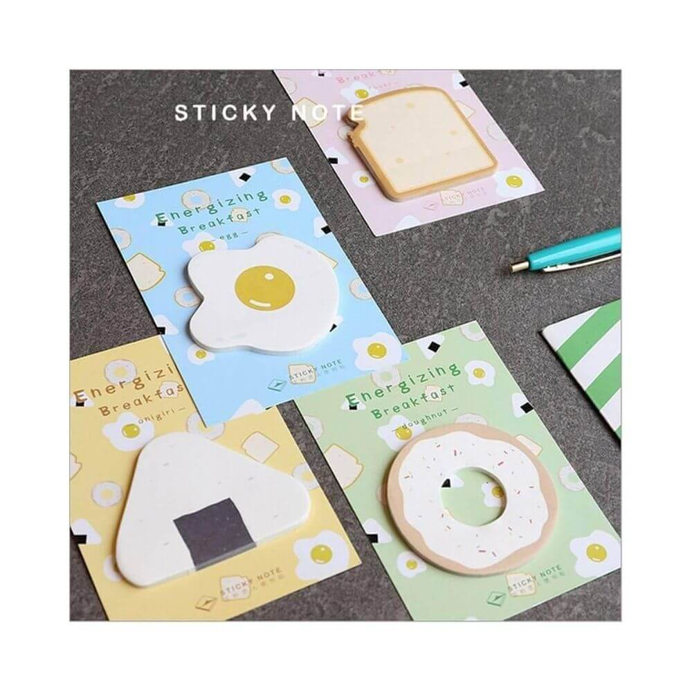 Sticky note food