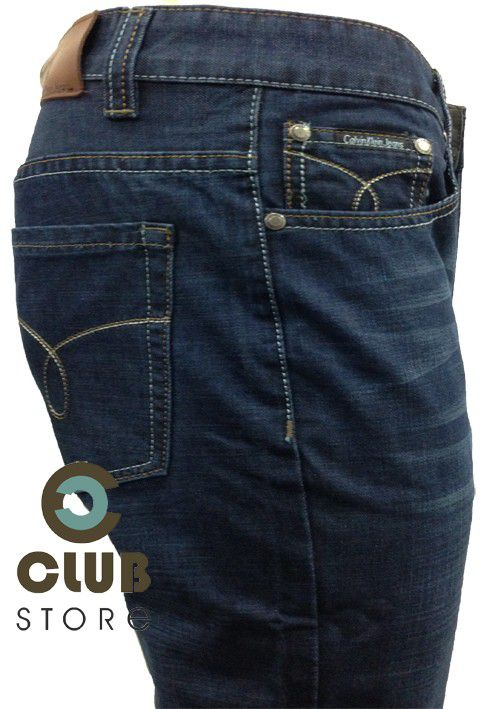 Calça Calvin Klein Jeans - Straight Jean Slim Fit