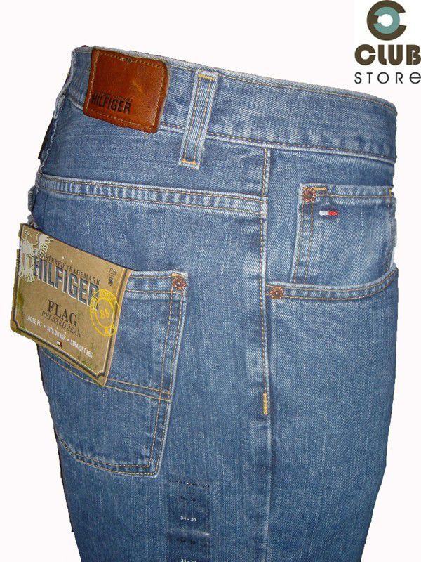 Calça Tommy Hilfiger - Flag Jeans
