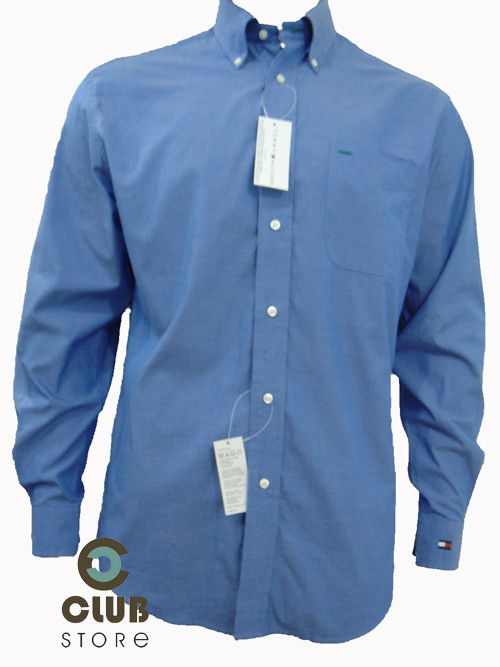 Camisa Social Tommy Hilfiger - Azul
