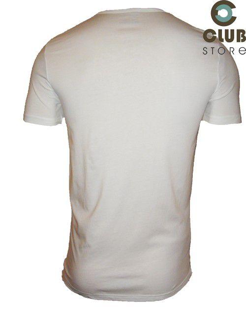 Camiseta Empório Armani - Slim Fit Branca