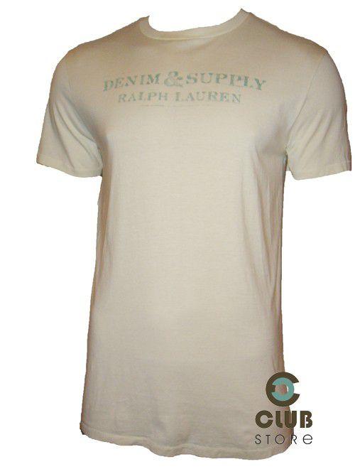 Camiseta Ralph Lauren - Creme