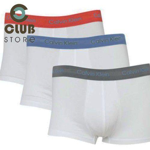 Cueca Boxer Calvin Klein (Pct. c/ 03 unid. e cores)