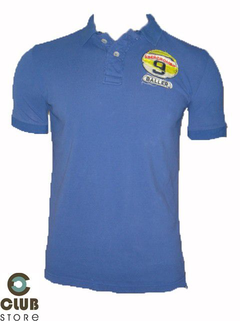 Polo Abercrombie & Fitch / Muscle - Azul