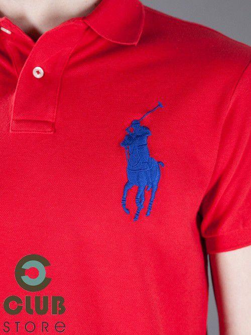 Polo Ralph Lauren - Big Pony Vermelha