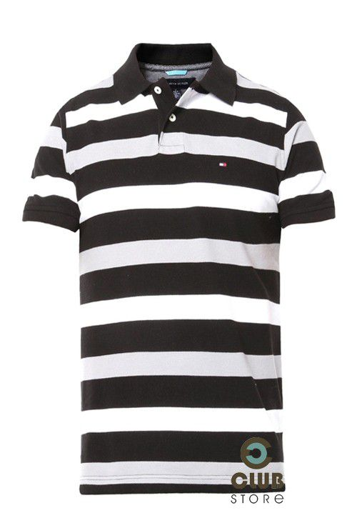 Polo Tommy Hilfiger Slim Fit Listrada