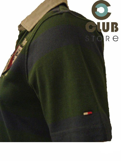 Polo Tommy Hilfiger - Verde/Azul