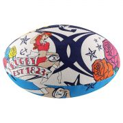 Bola de Rugby Gilbert Supporter Tattoo - Tamanho 5