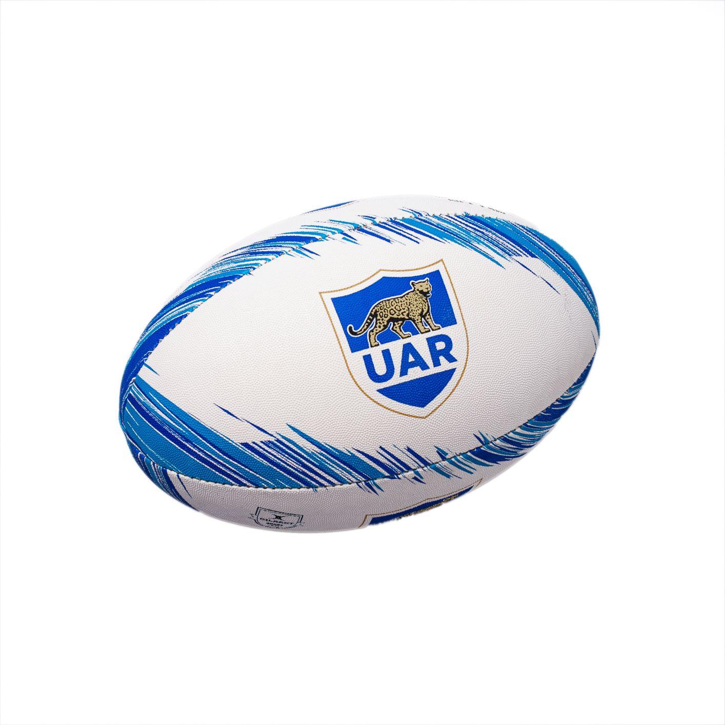 Bola de Rugby Gilbert Supporter Argentina - Tamanho 5