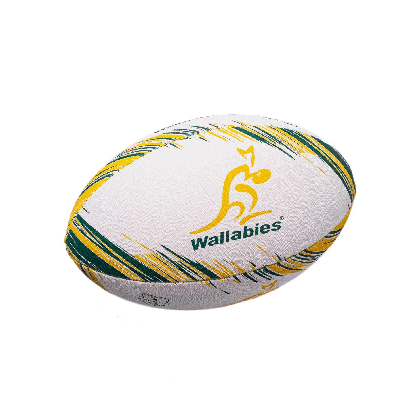 Bola de Rugby Gilbert Supporter Aus Wallabies - Tamanho 5