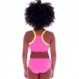 Biquini Infantil Top Neon Rosa - Cecí