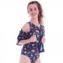 Blusa Kimono de Tactel Teen - Cecí
