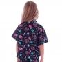 Blusa Kimono Infantil de Tactel Teen - Cecí