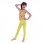 Calça Infantil Legging Amarela - Cecí