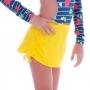 Saida de Praia Infantil com Puxador Amarela - Cecí
