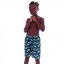 Short Infantil de Tactel Comprido Shark - Cecí