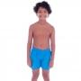Short Infantil de Tactel Curto Azul - Cecí