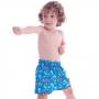Short Infantil de Tactel Curto Baby Dino - Cecí
