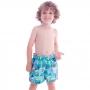 Short Infantil de Tactel Curto Fundo do Mar - Cecí