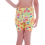 Short Infantil Legging Neon Ice Cream - Cecí