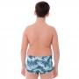 Sunga Infantil Boxer Blue Coconut Tree - Cecí