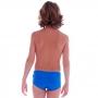 Sunga Infantil Slim Lisa Azul - Cecí