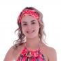 Turbante de Laço Amazônia Rosa - Cecí