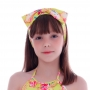Turbante de Laço Raposinha Tropical - Cecí