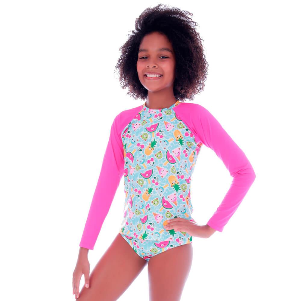 Conjunto de Proteção UV Infantil Doce Verão - Cecí