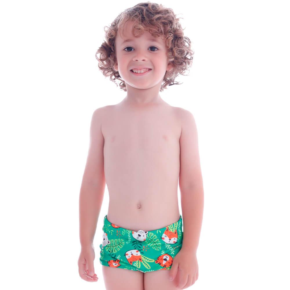 Sunga Infantil Boxer Florestinha - Cecí