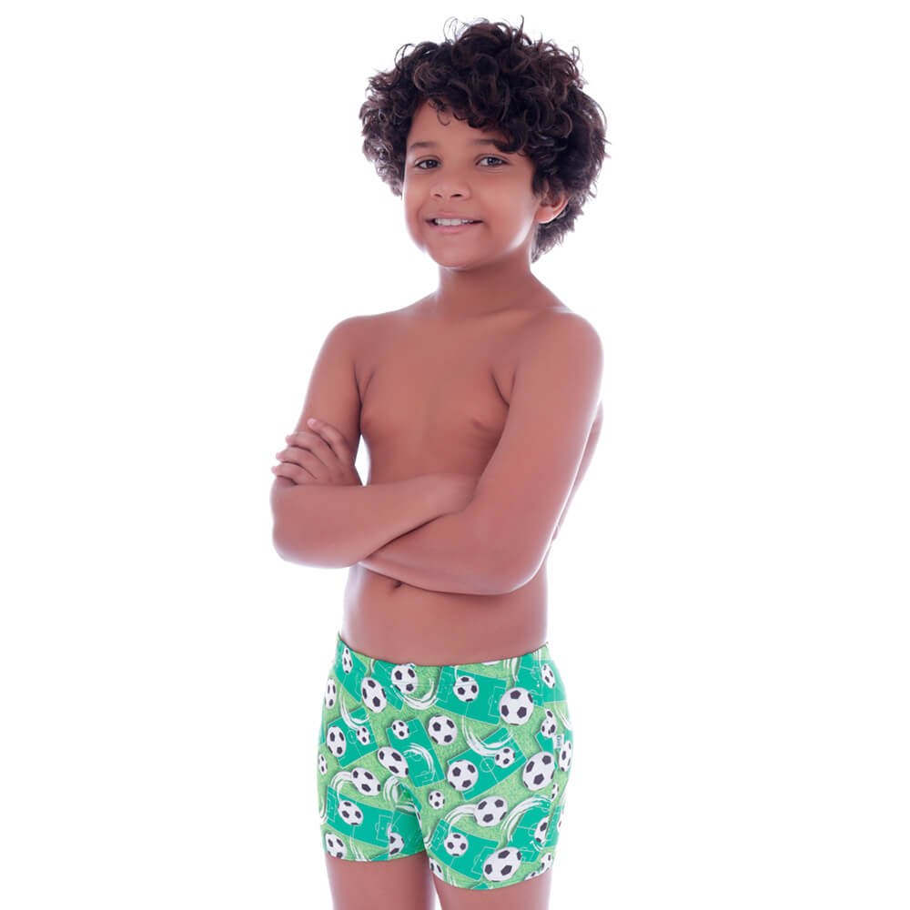 Sunga Infantil Short Paixão Nacional - Cecí