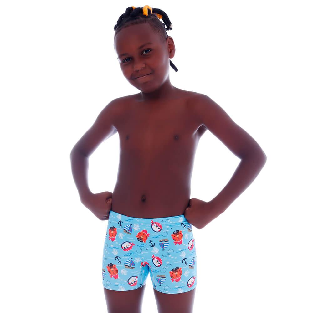 Sunga Short Infantil Piratinhas - Cecí