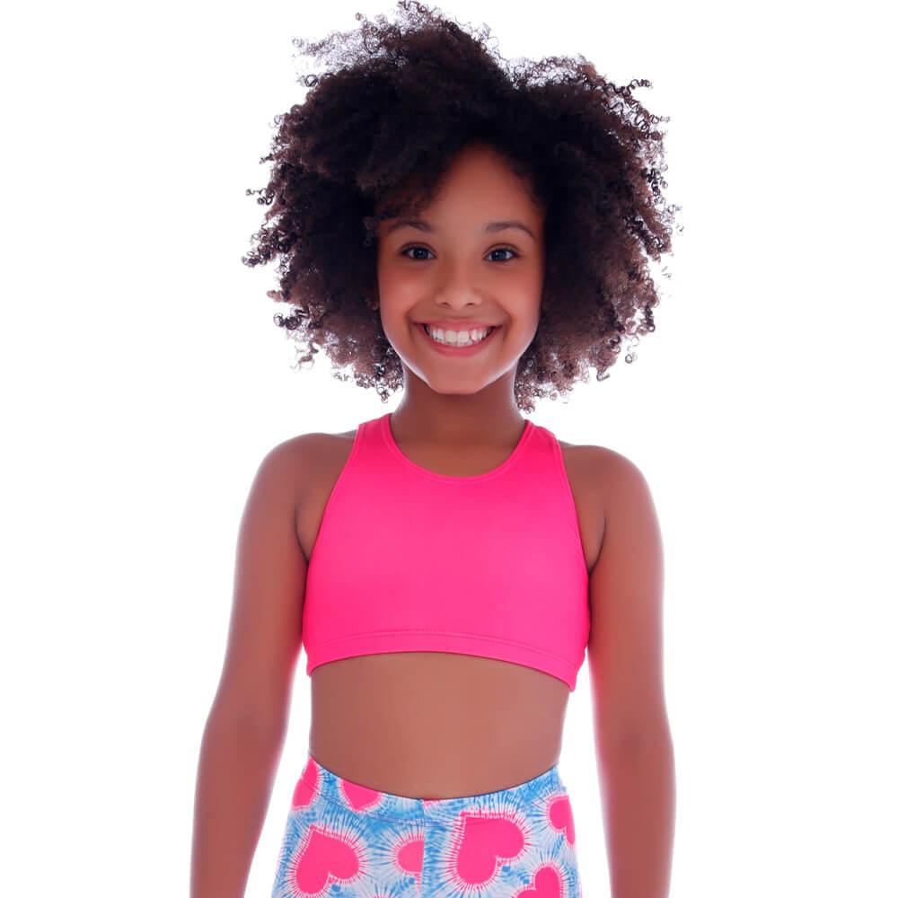 Top Legging Infantil Rosa - Cecí