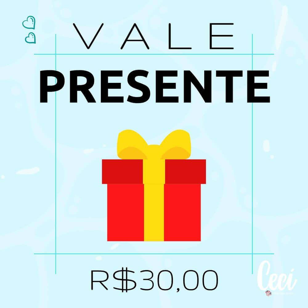 Vale Presente R$30