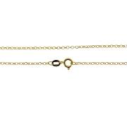Corrente em Ouro 18K Portuguesa elos Diamantados PRM50160