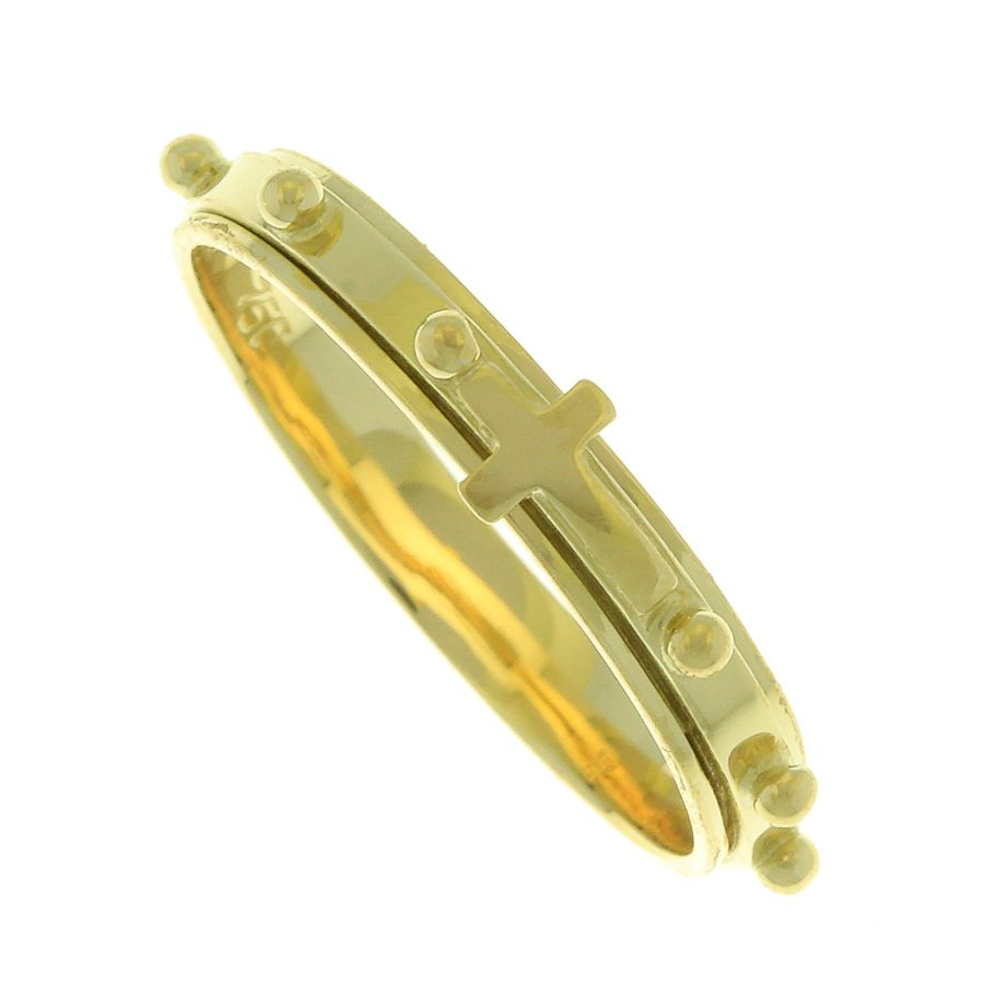 Anel em Ouro 18K de Terço rotativo NA90007