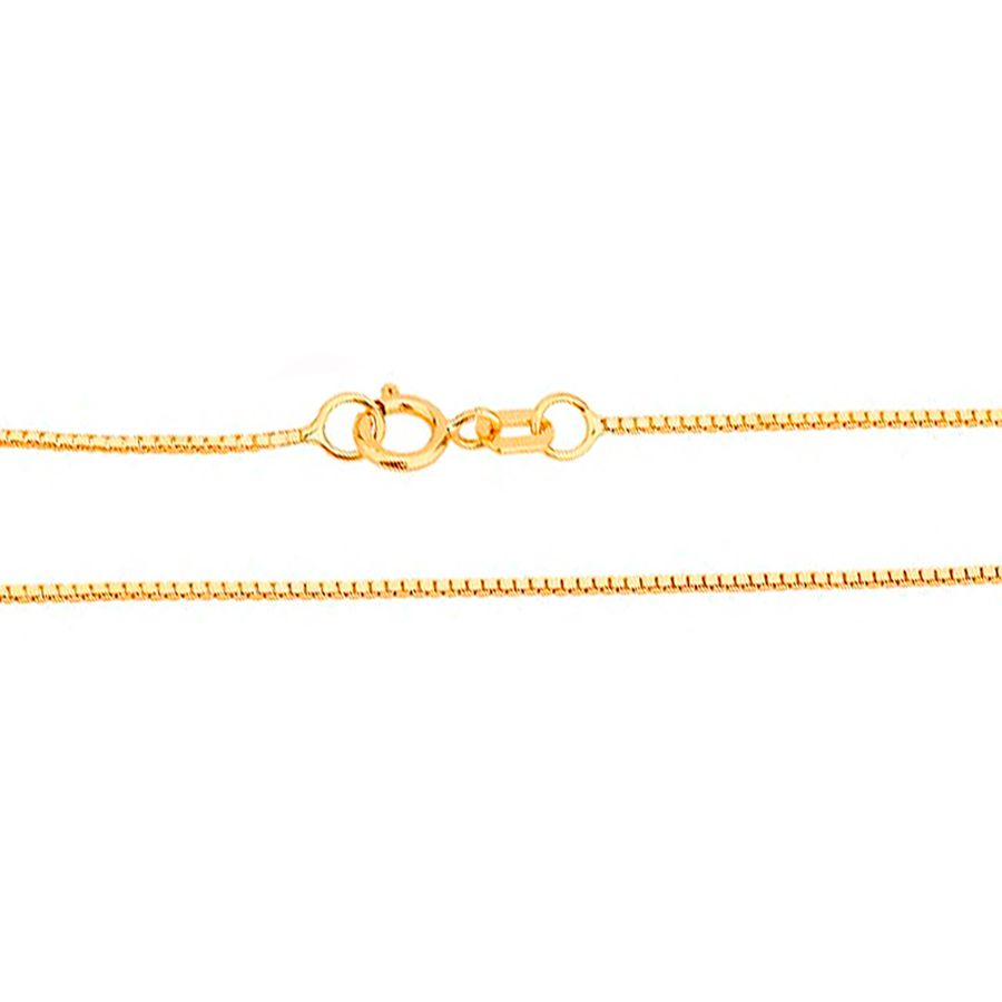 Corrente em Ouro 18K Veneziana 45cm NC90001