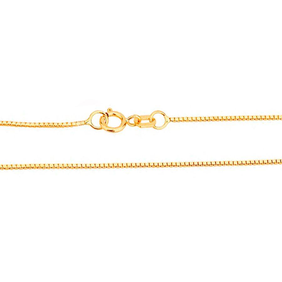 Corrente em Ouro 18K Veneziana 50cm NC90001