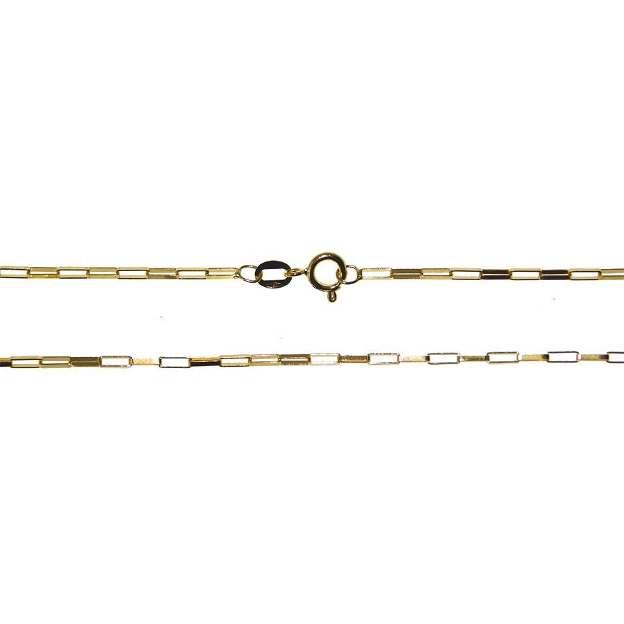 Corrente em Ouro 18K Veneziana Longa Cartier) CAR60260