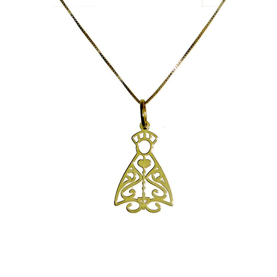 Gargantilha em Ouro 18K de Nossa Senhora Aparecida NG916770