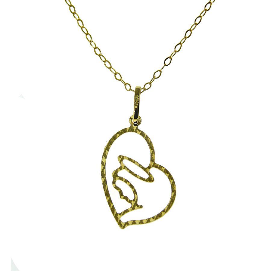Gargantilha em Ouro 18K de Nossa Senhora Aparecida NGZ 911544