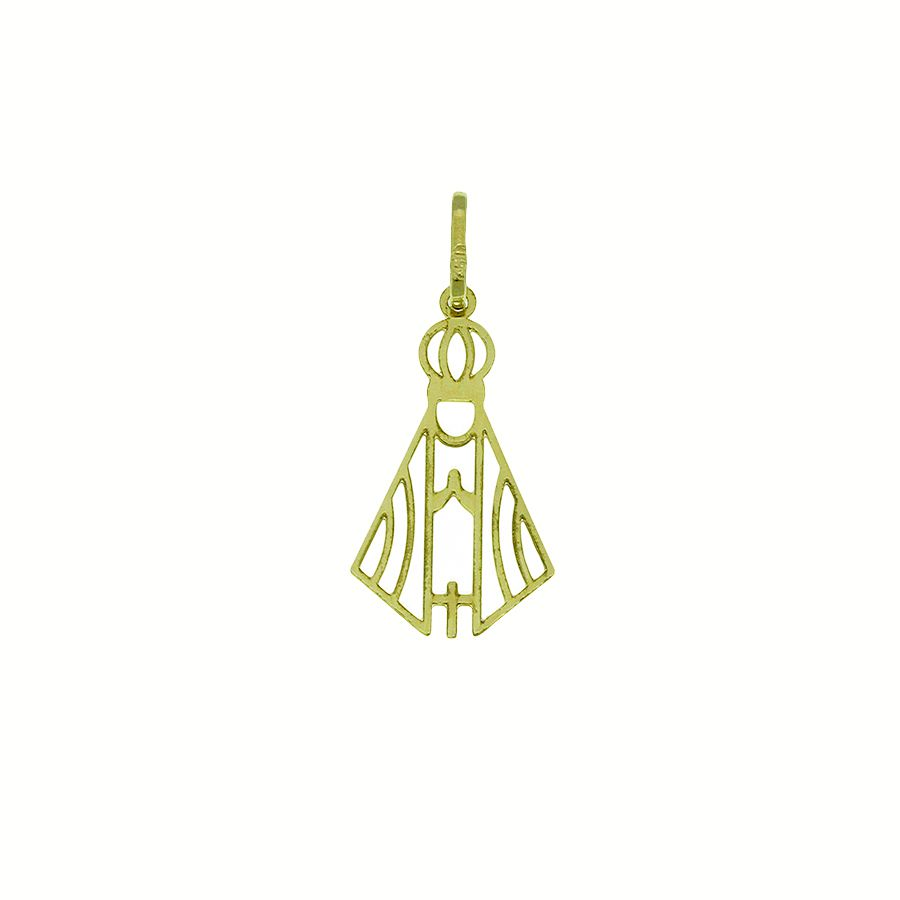 Gargantilha em Ouro 18K de Nossa Senhora Aparecida NGZ 912822