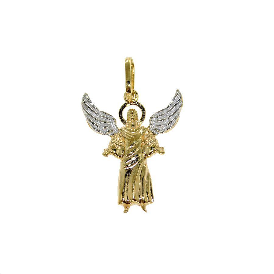 Pingente em Ouro 18K Arcanjo Gabriel NP913583