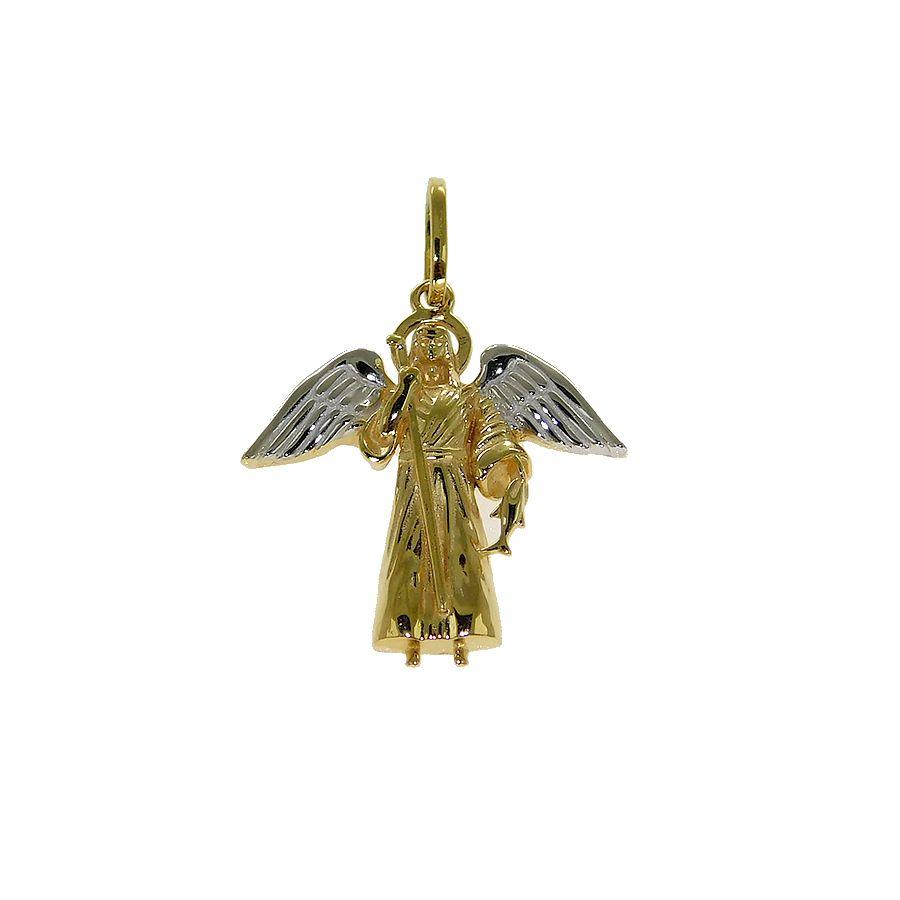 Pingente em Ouro 18K Arcanjo Rafael NP913584