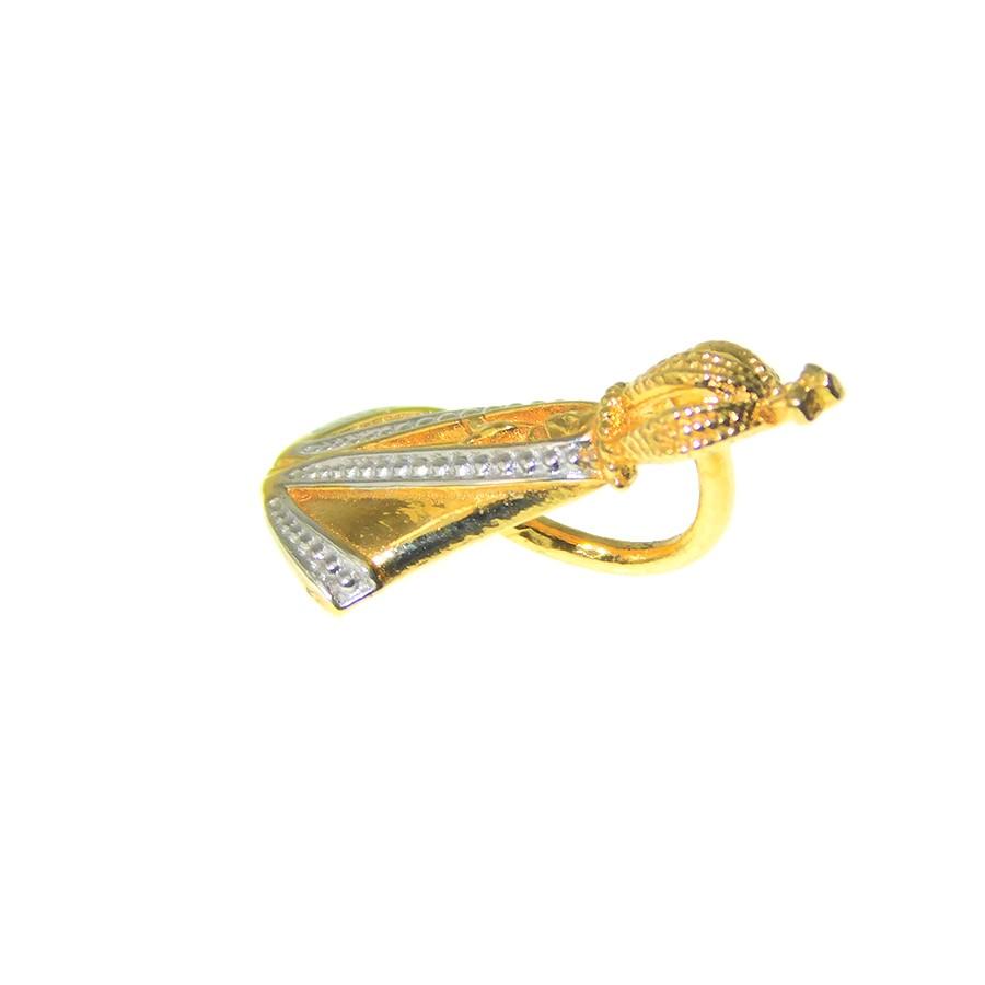 Pingente em Ouro 18K Medalha Nossa Senhora Aparecida PI97045