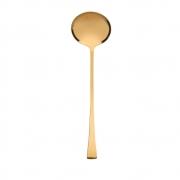 Concha p/ Sopa Berna Aço Inox Dourado