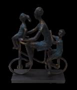 Escultura Ciclo Familia