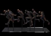 Escultura Corredores 45x19 cm