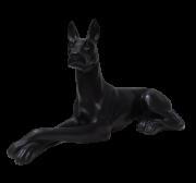Escultura Dog Preto